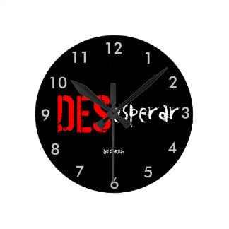 Clock of wall To make hopeles black