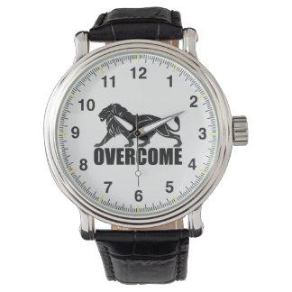 Clock overcome watch