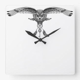 Clock Owl dreamer