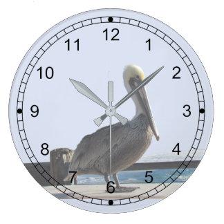 Clock - Pelican on Watch