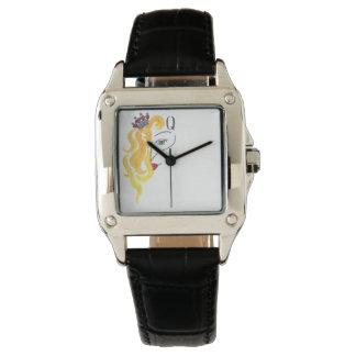 Clock Queen of Hearts Watch