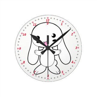Clock. Rabbit. Clock