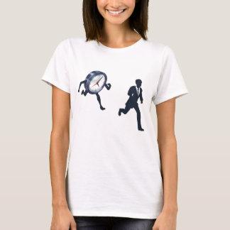 Clock Race Business Man Concept T-Shirt