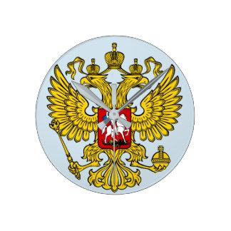 CLOCK Russia coat of arms