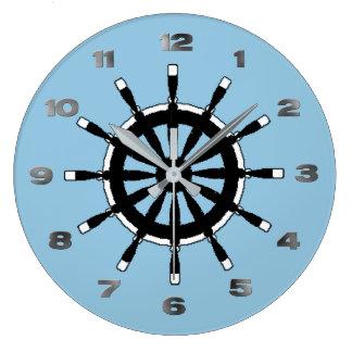 Clock - Ship Helm