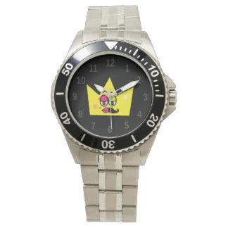 Clock Stainless Steel Bracelet - Transgênero Wristwatches
