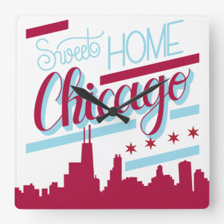 clock sweet home chicago