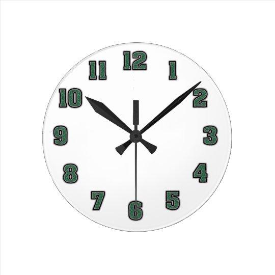 Clock Template 0126