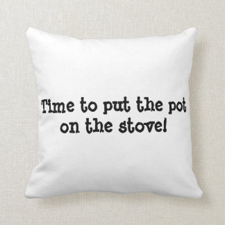 clock, time, stitch in time, pillow, funny sayings throw pillow