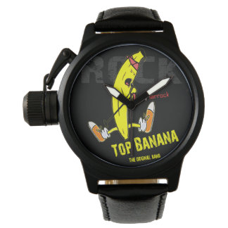 Clock Top Banana Original The Band Watch