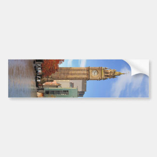 Clock tower in Belfast Bumper Sticker