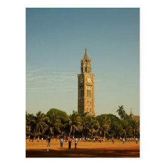 Clock Tower in Mumbai Postcard