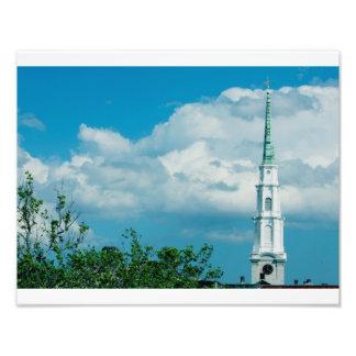 Clock Tower Photo Print
