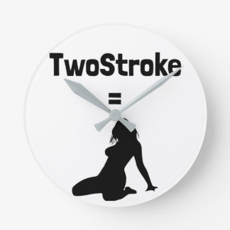 Clock (TwoStroke=Woman)
