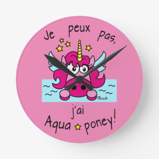 "Clock ""Unicorn, Aquaponey """