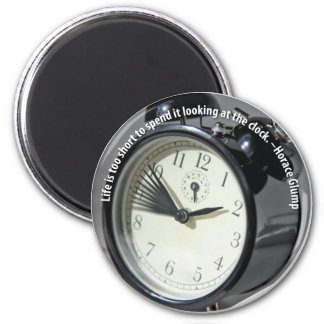 Clock Watching Magnet