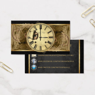Clock Watching Profile Cards