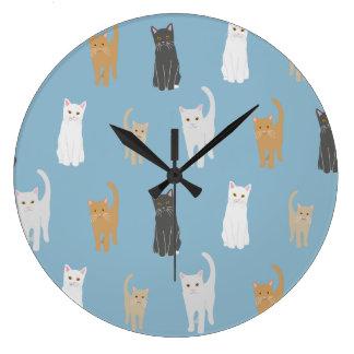 Clock with cat sample