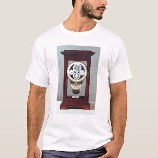Clock with four dials and the signs of the T-Shirt