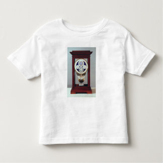 Clock with four dials and the signs of the toddler t-shirt