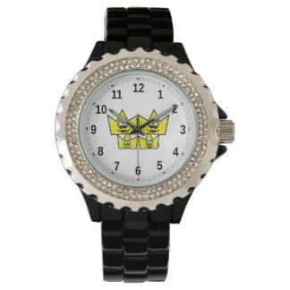 Clock with Strass - Gay Family - Women Watch