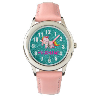 Clock with your name watch