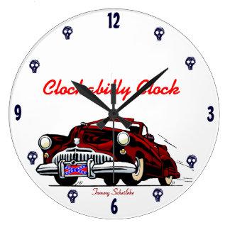 Clockabilly Clock