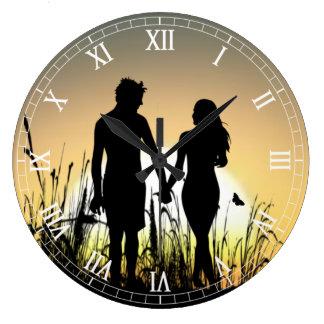 Clockart  (26) large clock