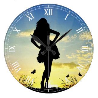 Clockart  (30) large clock