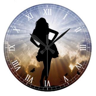 Clockart  (32) large clock