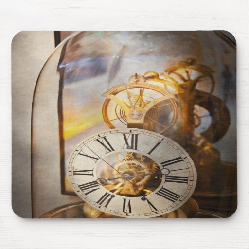 Clockmaker - A look back in time Mouse Pad