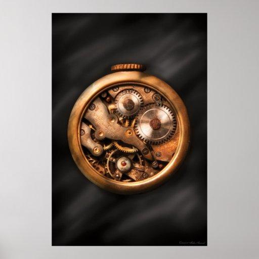 Clockmaker - Gears Poster