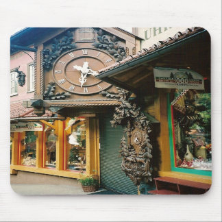 Clocks - Black Forest, Germany - Mousepad