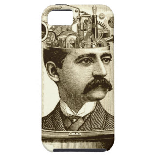 Clockwork Brain STEAMPUNK vintage iPhone 5 Case