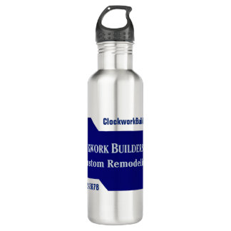 Clockwork Builders 710 Ml Water Bottle