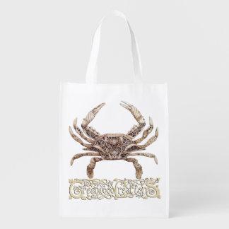 Clockwork Crab - Reusable Bag with Logo