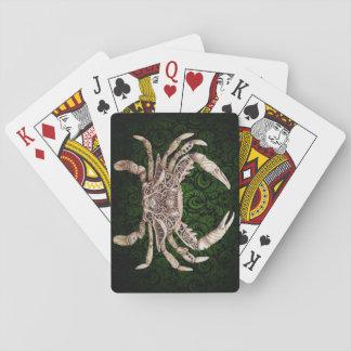 Clockwork Crab Steampunk Playing Cards