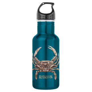 Clockwork Crab Water Bottle