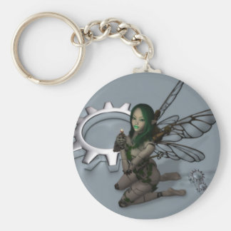 Clockwork Fairy Keychain