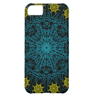 Clockwork Flower Mandala Cover For iPhone 5C
