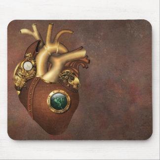 Clockwork Heart Mouse Pad