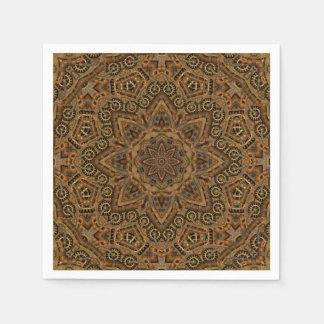 Clockwork Kaleidoscope   Paper Napkins, 5 styles Disposable Napkin