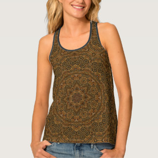 Clockwork Kaleidoscope Racerback Tank Top