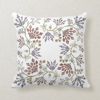 Clockwork Lace Throw Pillow