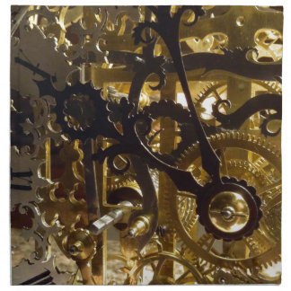 Clockwork Masterpiece Napkin