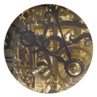 Clockwork Masterpiece Plate