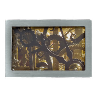 Clockwork Masterpiece Rectangular Belt Buckle