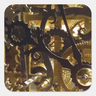 Clockwork Masterpiece Square Sticker