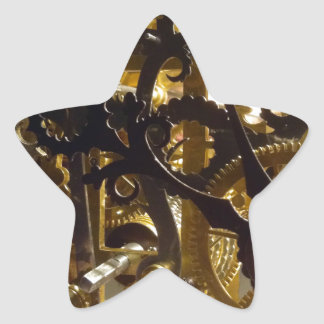 Clockwork Masterpiece Star Sticker