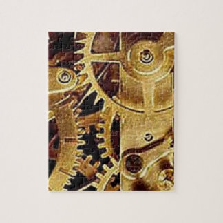 clockwork MECHANISM CLOCK Jigsaw Puzzle